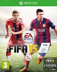 les jeux de foot Fifa15 cover eu xbox one