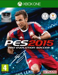les jeux de foot proevolutionsoccer 2015 cover eu