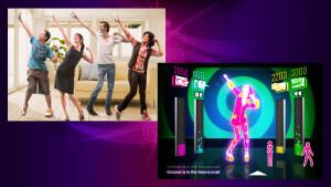 Danse wii - JustDance-4 players