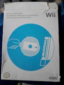 Nettoyer une Wii - Kit de nettoyage lentille