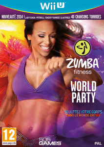 zumba sur la wii Zumba world party