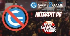 PGW interdit Game2Game