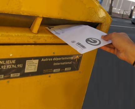 Échange postal