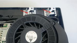 Nettoyage PS3 - Connecteurs Wifi PS3 Slim