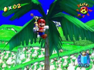 Jeux de Gamecube - Super Mario Sunshine