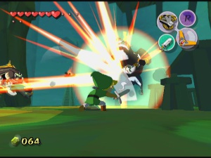 Jeux de Gamecube - Zelda Wind Waker