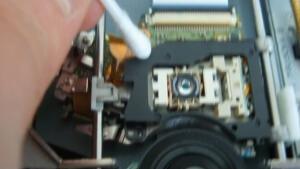 lentille PS3 - nettoyer lentille