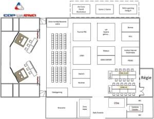 Cap Arena - Plan