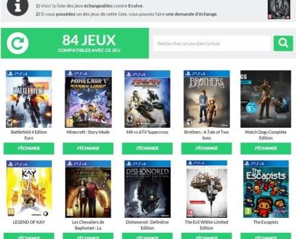 Recherche inversée PS4 V1