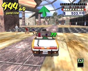 jeux dreamcast-Crazy Taxi