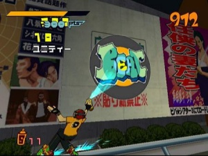 jeux dreamcast-Jet Set Radio
