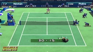 jeux dreamcast-Virtua tennis