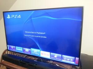 Panne PS4 - écran tv