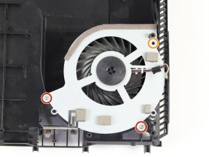 PS4 chauffe - ventilateur