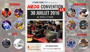 Gagnez une PS4 à la Hedg Convention 4.0 !
