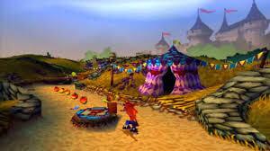 Jeux de Playstation 1 - Crash bandicoot 2