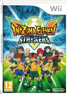Inazuma eleven strikers wii cover