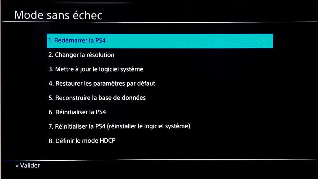 Reparation Probleme Hdmi Ps4 Comment Gerer L Affichage De La Console