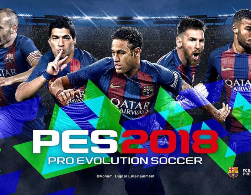 PES 2018-nouveau jeux PS3