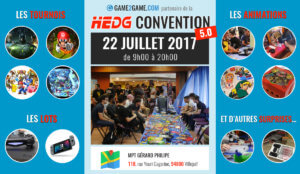Convention jeux video : remportez une console neuve à la Hedg Convention 5.0 !