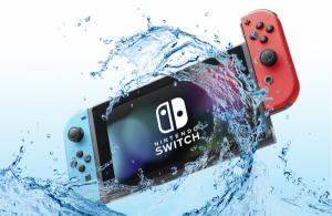 Switch tombée dans l'eau : que faire ?